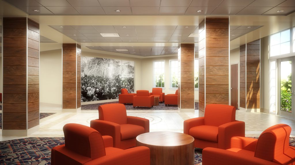 Auburn University South Donahue Residence Hall Receives National Interior Design Award Goodwyn