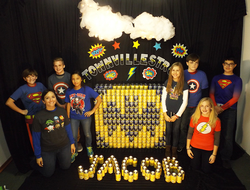 YLA Can Do Good Townville Strong Team Photo