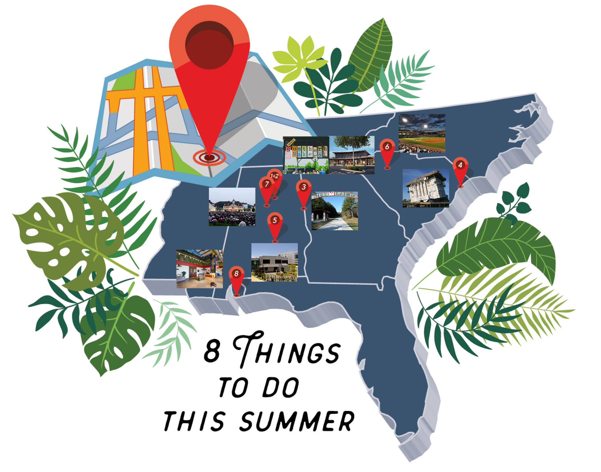 8 Things To Do This Summer Graphic