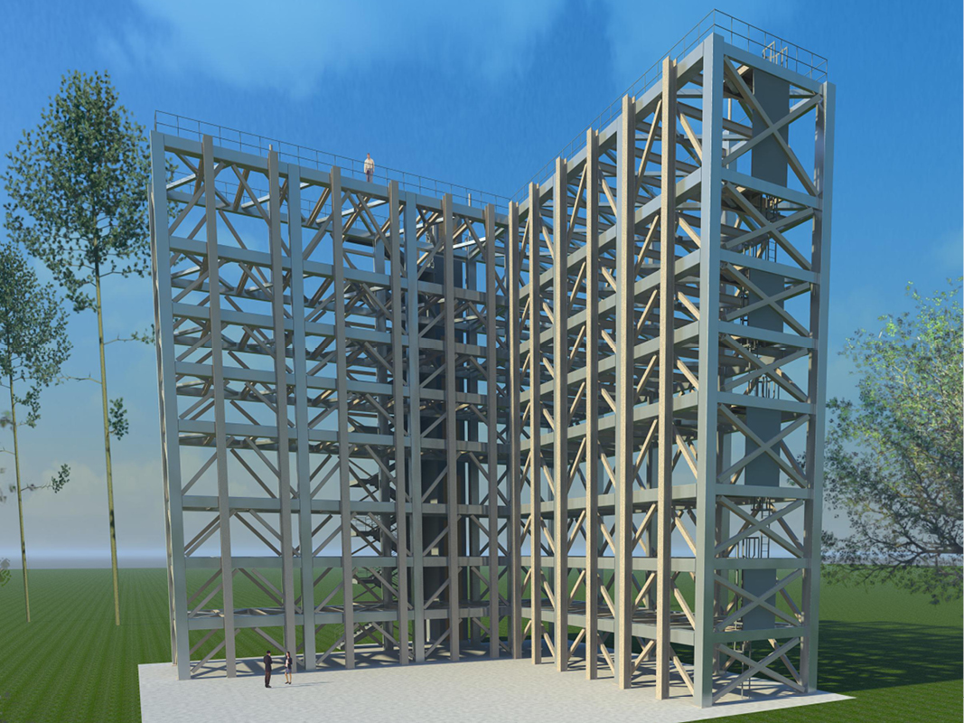 NASA SLS Test Stands rendering 2 web
