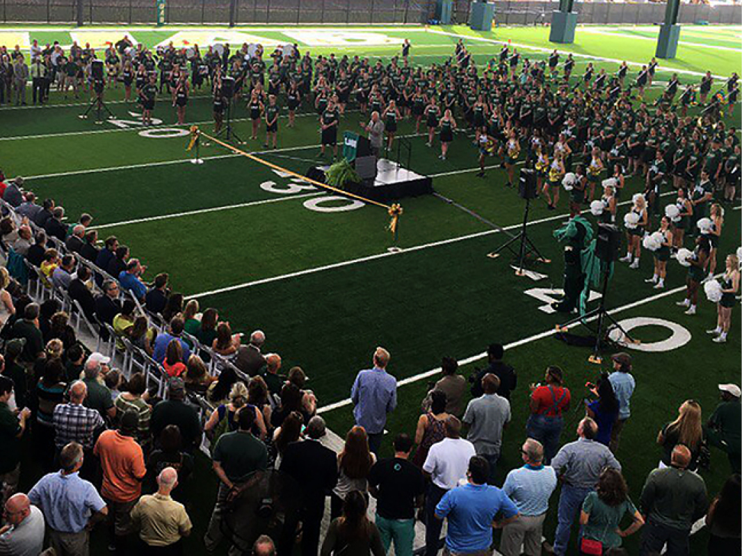 UAB Football Ops + Legacy Pavilion Ribbon Cutting