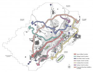 Red Rock ridge and Valley Trail system master plan