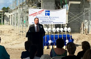 East Naples Clinic Groundbreaking CEO Scott Lowe