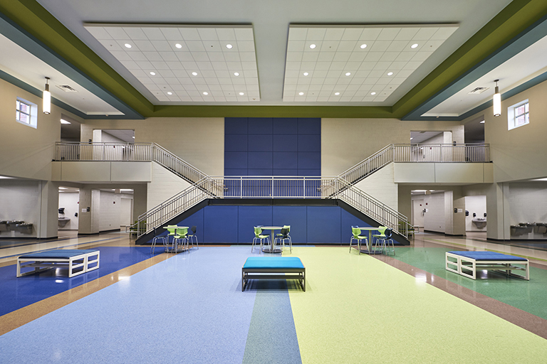 Mill Creek Elementary+Middle School Atrium